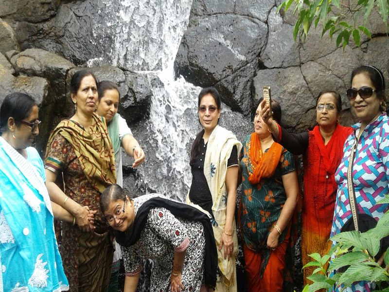 Natural waterfalls near pune - Mantra Resort
