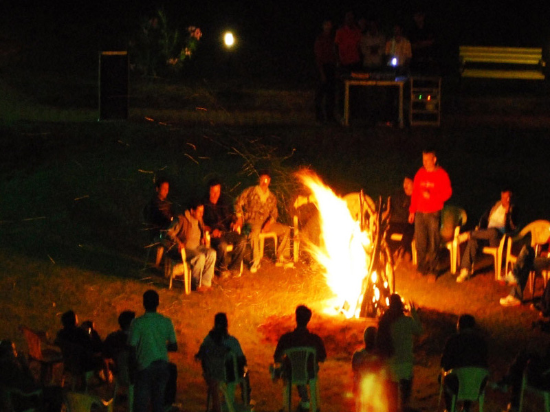 Camp Fire Activity at Mantra Resorts