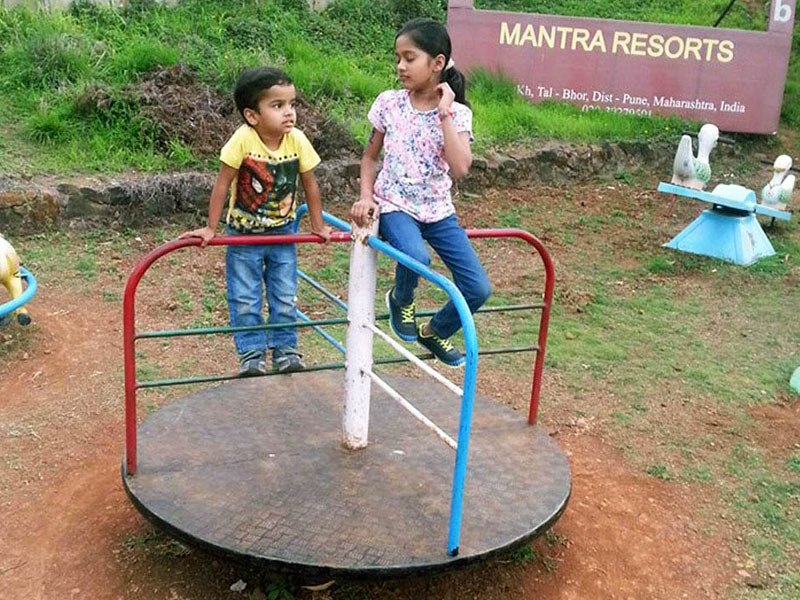 Children Play Park at Mantra Resorts near Pune