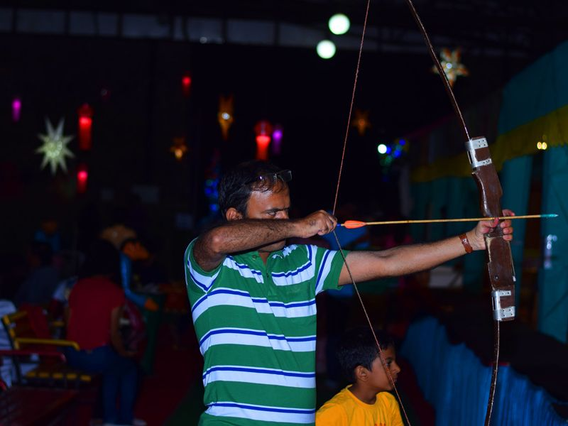 archery activity at Mantra Resorts near Pune
