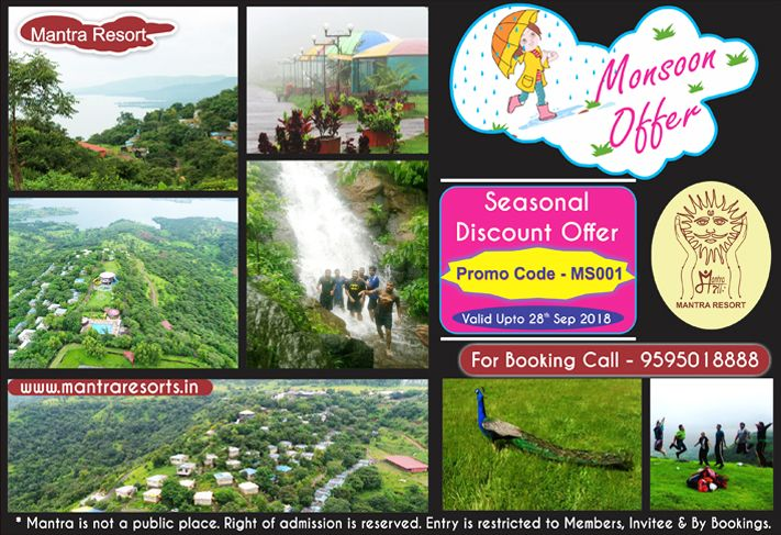 Monsoon offer at Mantra resort near pune